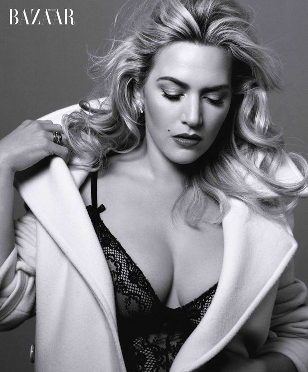Kate Winslet in the June/July issue of Harper's Bazaar