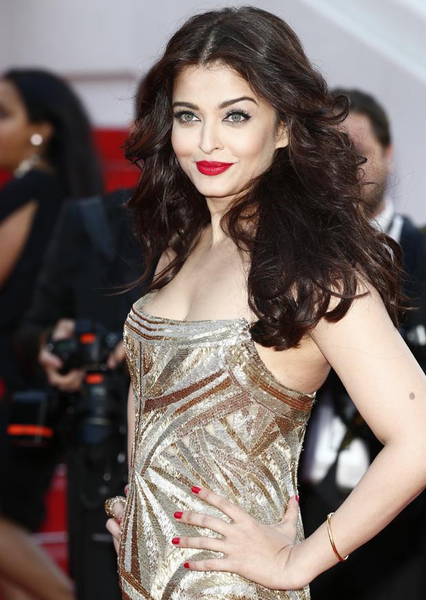 Aishwarya Rai attends 'Deux Jours, Une Nuit' premiere during the 67th Annual Cannes Film Festival