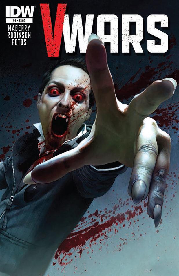Cover design for V-Wars #1