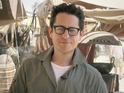 JJ Abrams on the set of Star Wars Episode VII