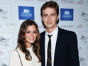 Actress is expecting her first child with long-time boyfriend Hayden Christensen.