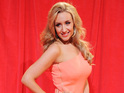"Coronation Street's Catherine Tyldesley says her pregnancy feels ""100% right""."