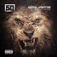 50 Cent 'Animal Ambition' album artwork.