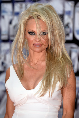 MONTE-CARLO, MONACO - MAY 27:Pamela Anderson the World Music Awards 2014 at Sporting Monte-Carlo on May 27, 2014 in Monte-Carlo, Monaco. (Photo by Pascal Le Segretain/Getty Images)