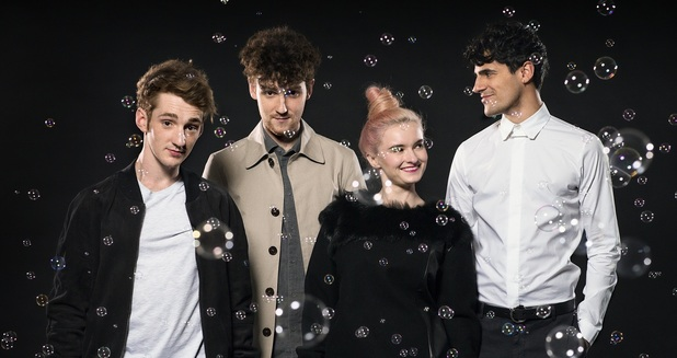 Clean Bandit press shot 2014.