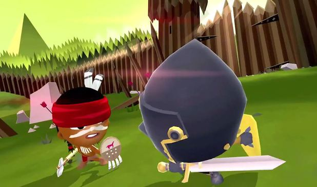 World of Warriors is the new game from the Moshi Monsters studio