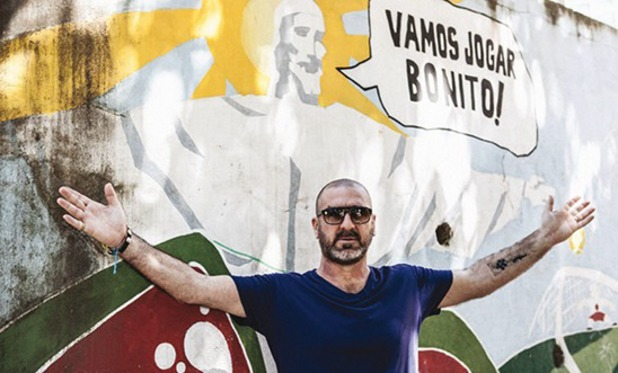 Eric Cantona in Looking for Rio