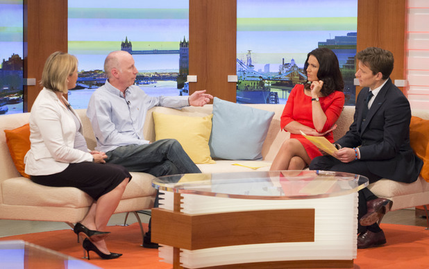 Vicki Butler Henderson and Noel Gaughan with Susanna Reid and Ben Shephard on Good Morning Britain, 29th May 2014