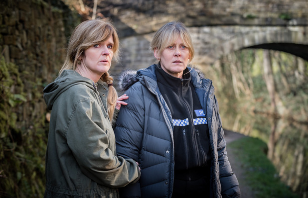 Sarah Lancashire & Siobhan Finneran in Happy Valley