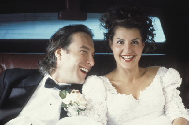 John Corbett, Nia Vardalos in My Big Fat Greek Wedding (2002)