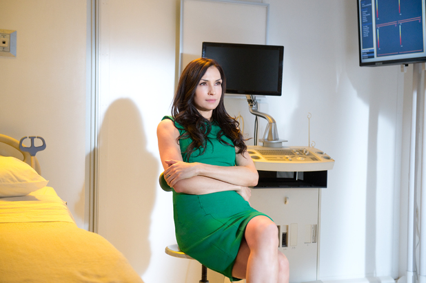 Famke Janssen on Hemlock Grove season 2