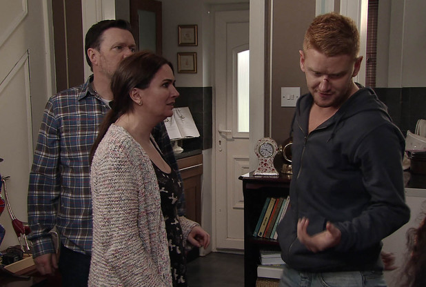 Owen loses his temper with Gary