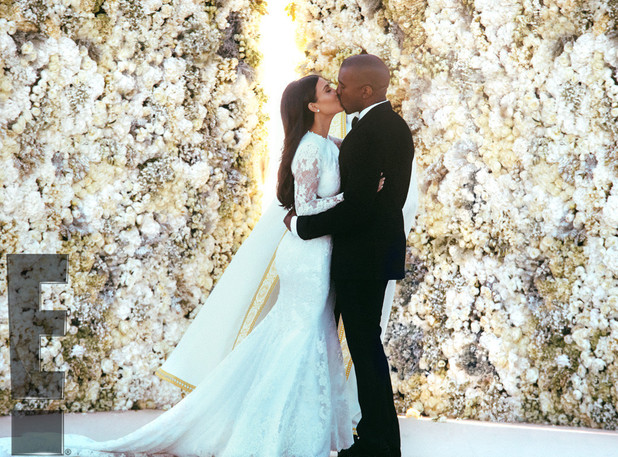 Kim Kardashian and Kanye West get married