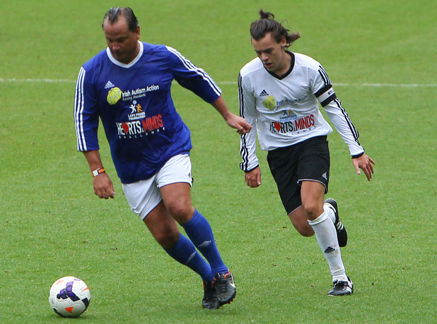Niall Horan's Charity Football Match - Harry Styles