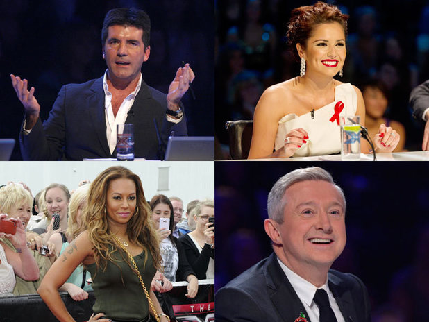 The X Factor 2014 rumoured judges