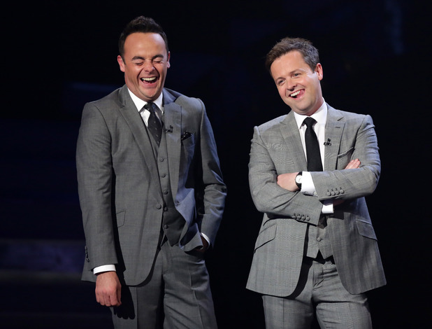 Britain's Got Talent second live semi-final: Ant and Dec