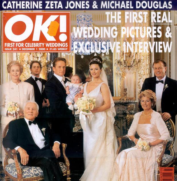 Michael Douglas, Catherine Zeta Jones wedding