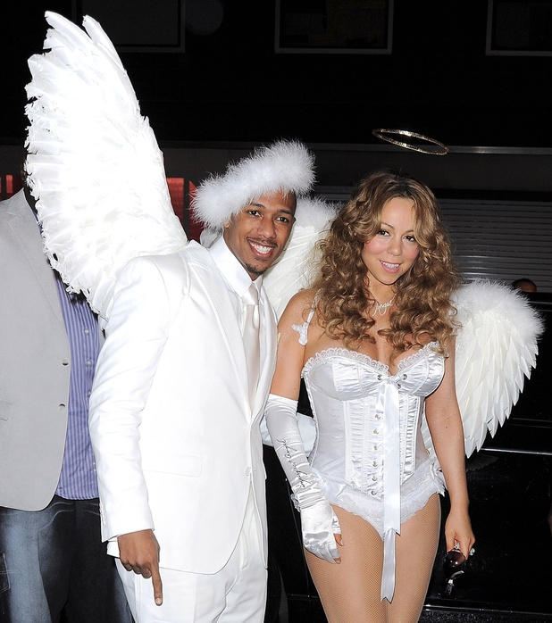 14th Annual Bette Midler's New York Restoration Project's Hulaween at The Waldorf-Astoria, New York, America - 30 Oct 2009 Nick Cannon and Mariah Carey 31 Oct 2009