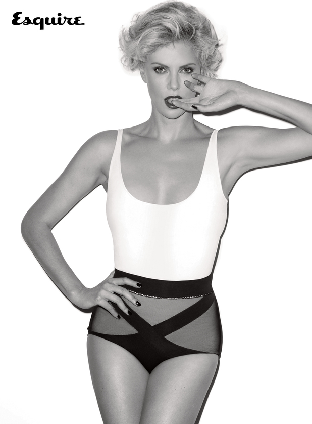 Charlize Theron photoshoot for Esquire magazine