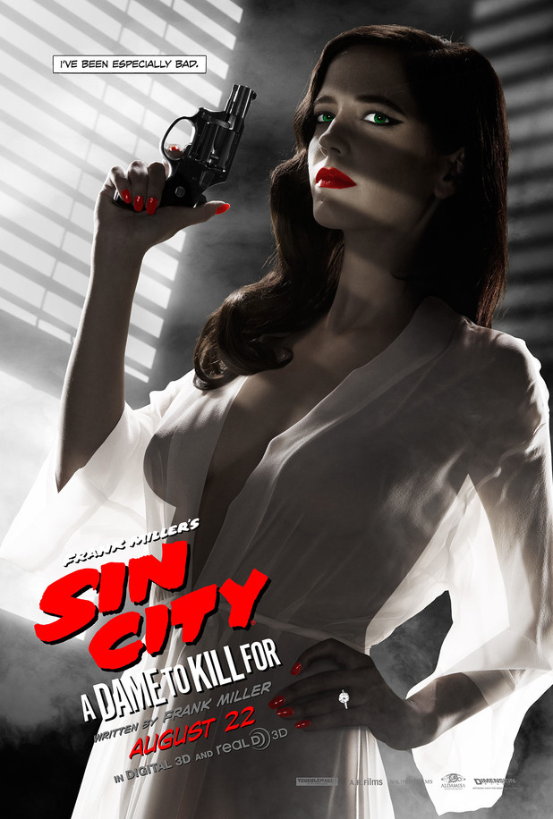 Eva Green's banned Sin City: A Dame to Kill For poster