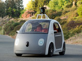 Prototype version of Google's driverless car