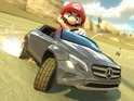The Wii U racer will receive three Mercedes-Benz cars and new features this month.
