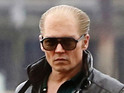 First look at Transcendence star as mobster Whitey Bulger in Black Mass.