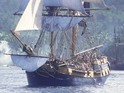 The ship was used as The Black Pearl, The Henrietta and The Terrasaw in the films.
