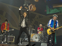 Mick Jagger performs with The Rolling Stones for the first time since L'Wren Scott's death.