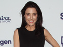 Jaime Murray and her fiancé Bernie Cahill marry in private Bali ceremony.