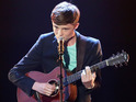"Teen singer says he is ""really embarrassed"" to have cried on national television."