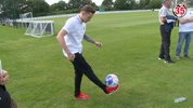 Ahead of Soccer Aid Digital Spy decided to find out who had the best ball skills by challenging the celebrity players at the ultimate school-yard measure of skill - Keepy Uppy.