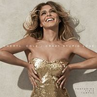 Cheryl Cole 'Crazy Stupid Love' single artwork.