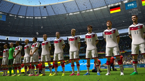 2014 FIFA World Cup Brazil simulation