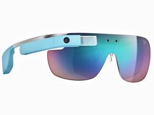 Diane Von Furstenburg's Google Glass frames
