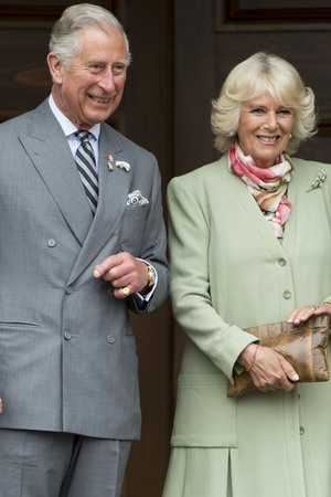 PRINCE EDWARD ISLAND, PRINCE EDWARD ISLAND - MAY 20: Ê Prince Charles, Prince of Wales and Camilla, Duchess of Cornwall visit Province House on May 20, 2014 in Prince Edward Island, Canada.Ê (Photo by Mark Cuthbert/UK Press via Getty Images)