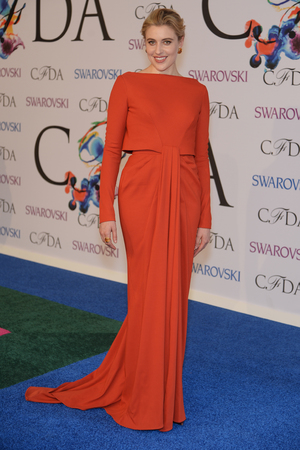 NEW YORK, NY - JUNE 02: Actress Greta Gerwig attends the 2014 CFDA fashion awards at Alice Tully Hall, Lincoln Center on June 2, 2014 in New York City. (Photo by Dimitrios Kambouris/Getty Images)
