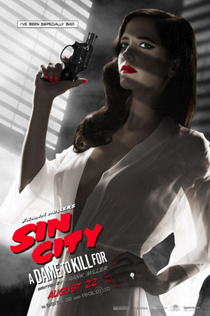 Eva Green's new Sin City: A Dame to Kill For poster