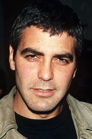 PLANET HOLLYWOOD PARTY, SAN ANTONIO, TEXAS. AMERICA - 1996 GEORGE CLOONEY 1996