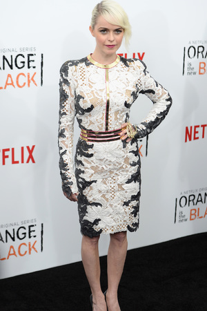 NEW YORK, NY - MAY 15: Actress Taryn Manning attends the 'Orange Is The New Black' season two premiere at Ziegfeld Theater on May 15, 2014 in New York City. (Photo by Theo Wargo/Getty Images)