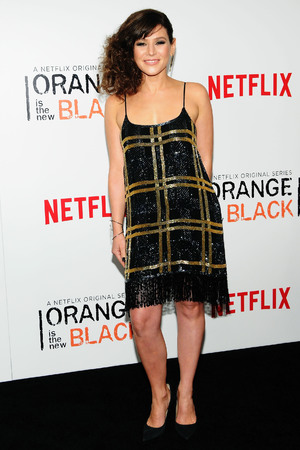 NEW YORK, NY - MAY 15: Actress Yael Stone attends the 'Orange Is The New Black' season two premiere at Ziegfeld Theater on May 15, 2014 in New York City. (Photo by Desiree Navarro/WireImage)