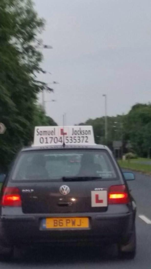 Samuel L Jackson driving instructor