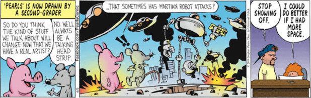Pearls Before Swine's rumoured Bill Watterson contributions