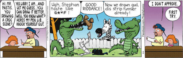 Pearls Before Swine's rumoured Bill Watterson contributions