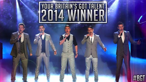 Collabro are crowned Britain's Got Talent winners
