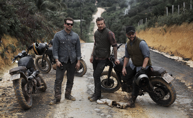 David Beckham Into The Unknown: Derek White, David Beckham, Anthony Mandler