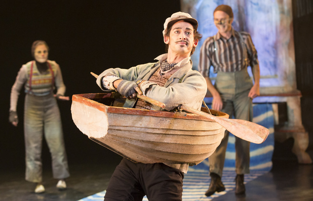 Will Kemp as Ratty in Wind in the Willows