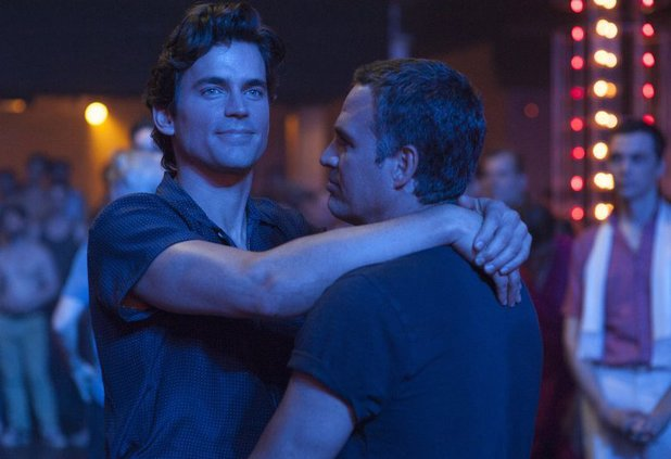 Matt Bomer and Mark Ruffalo in The Normal Heart (2014)