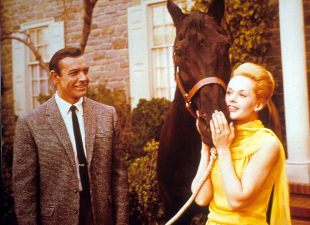 Sean Connery & Tippi Hedren in Marnie