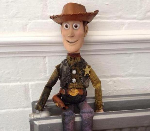 Woody lost toy